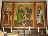 Flügelalter der Burgkapelle